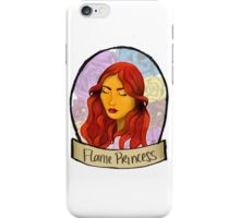Flame Princess iPhone Case/Skin