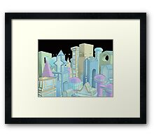 Future city Framed Print
