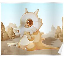 Cute Cubone Poster