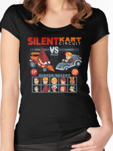 SILENT KART CIRCUIT Women's Fitted Scoop T-Shirt