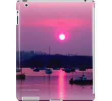 Pink Moon iPad Case/Skin