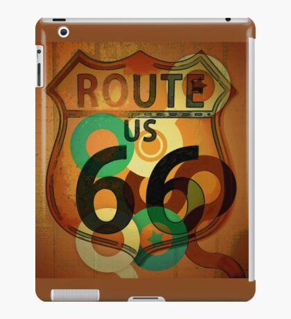Route 66 Rodeo iPad Case/Skin
