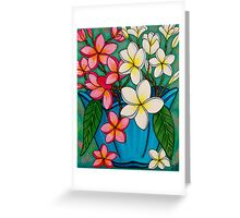 Frangipani Sawadee Greeting Card
