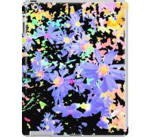Colorful Lavender Flower Scene iPad Case/Skin