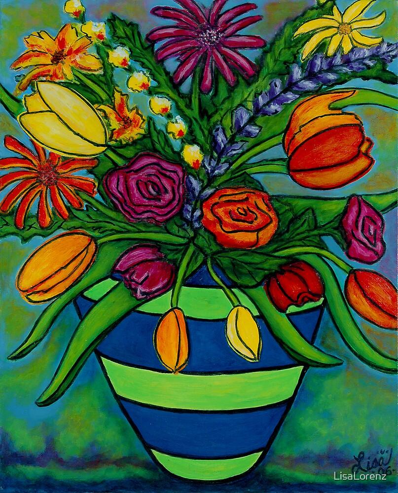 Funky Town Bouquet by LisaLorenz