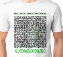 Real obstacles maze Unisex T-Shirt