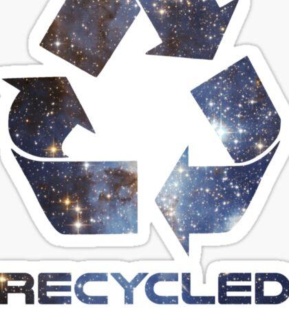 Recycled Star Stuff Sticker