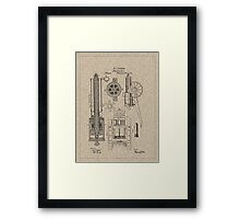1862 Gatling Machine Gun Patent Framed Print