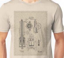 1862 Gatling Machine Gun Patent Unisex T-Shirt