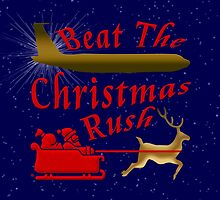 Beat The Christmas Rush by Vy Solomatenko