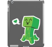 Creeper Loves You iPad Case/Skin