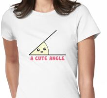 A Cute Acute Angle Womens Fitted T-Shirt