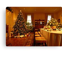 A Dupont Christmas Canvas Print