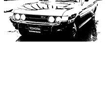 TOYOTA Celica 1600 ST by garts