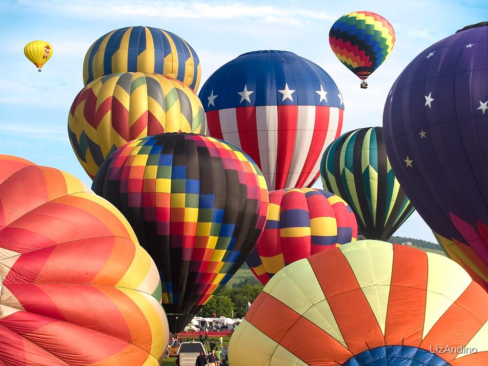 Balloonrise by LizAndino