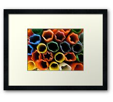 Cartridges. Framed Print