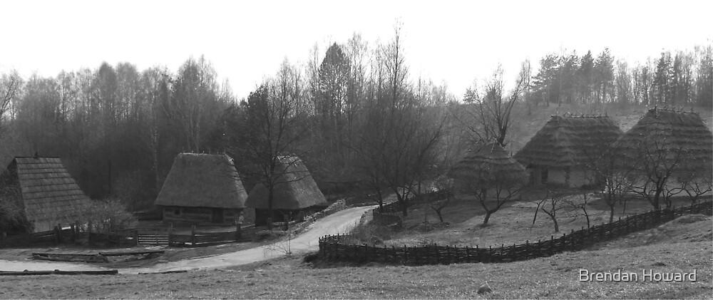 Old Ukrainian Village by Brendan Howard