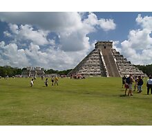 The Castle or Pyramid of Kukulcan Photographic Print