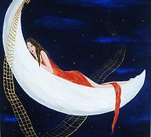 Abbracciata alla Luna by chiaramachetti