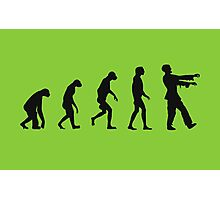 Evolution of Zombies (Zombie Walking Dead) Photographic Print