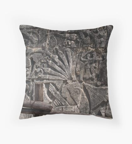 Beheaded Throw Pillow