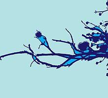 Twigs blue by marbia