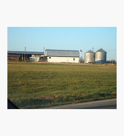 TN farms Photographic Print