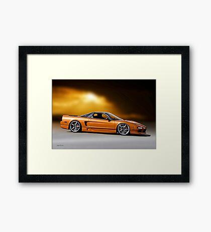 Acura NSX Framed Print