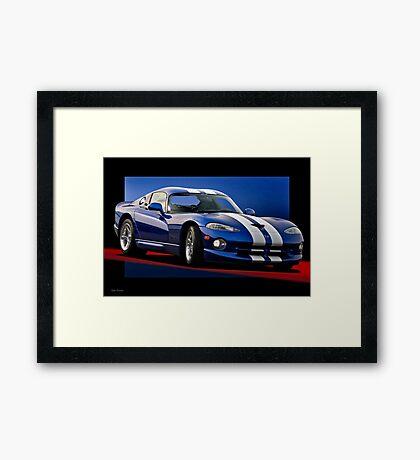 1995 Dodge Viper GTS Framed Print
