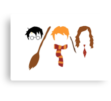 Harry Potter Trio  Canvas Print