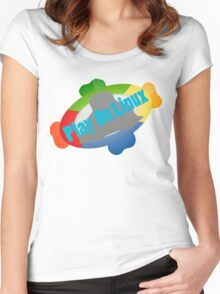 Play on Linux Women's Fitted Scoop T-Shirt
