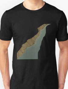 Glitch Abbasid Land river 1 T-Shirt