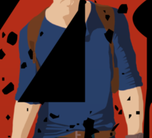 Nathan Drake Uncharted 4 Sticker
