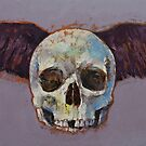 Raven Skull by Michael Creese
