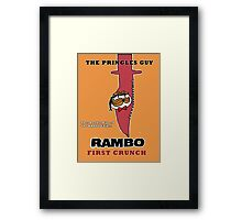 Rambo: First Chip Framed Print
