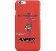Rambo: First Chip iPhone Case/Skin