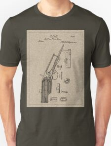1839 Colt Firearm Patent T-Shirt