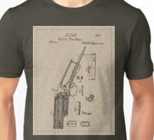 1839 Colt Firearm Patent Unisex T-Shirt