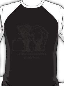 Go Into Business with a Grizzly Bear T-Shirt