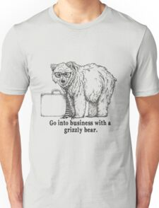 Go Into Business with a Grizzly Bear Unisex T-Shirt