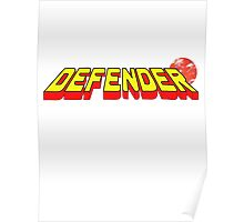 Arcade Classic - Defender. Poster