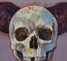 Raven Skull Sticker
