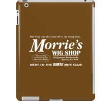 Morrie's Wig Shop (White Print) iPad Case/Skin
