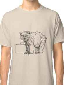 Go into Busines with a Grizzly Bear (2) Classic T-Shirt