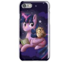Reading with Twilight iPhone Case/Skin
