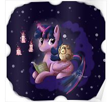 Reading with Twilight Poster