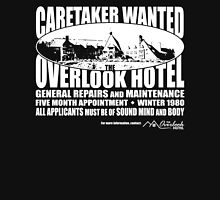 Caretaker Wanted (White Print) Unisex T-Shirt