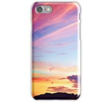Colorful Sunset ~ digital paint effect  iPhone Case/Skin