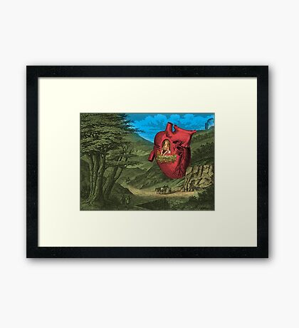 Heart's Ease Traveler's Rest Framed Print