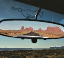 Rearview mirror Utah by Julio Vasconcellos